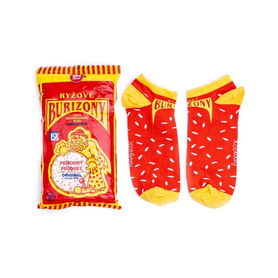 Ponožky burizony nízke